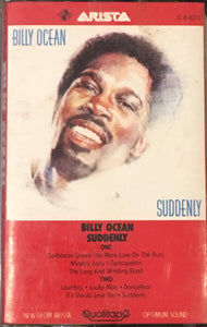 Billy Ocean Suddenly Cassette VG