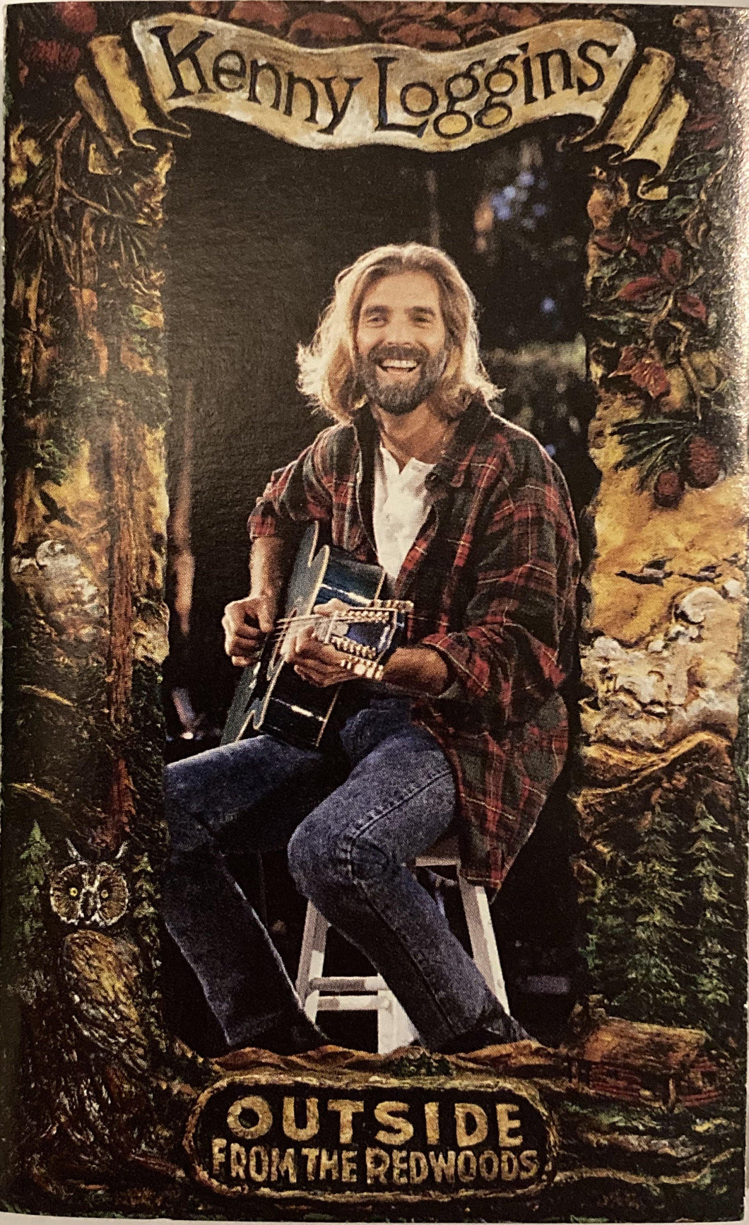 Kenny Loggins - Outside From The Redwoods CASSETTE TAPE VG+ - 3rdfloortapes.com