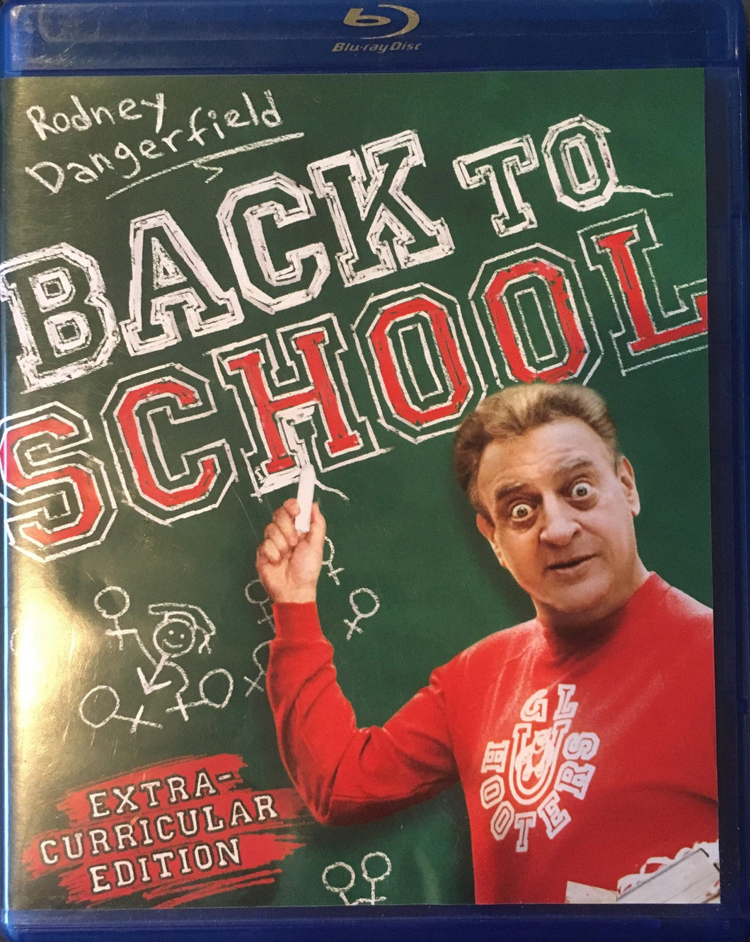 Back To School BluRay (Rare OOP)