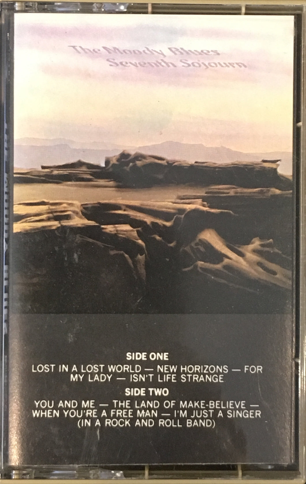 Moody Blues Seventh Sojourn Cassette
