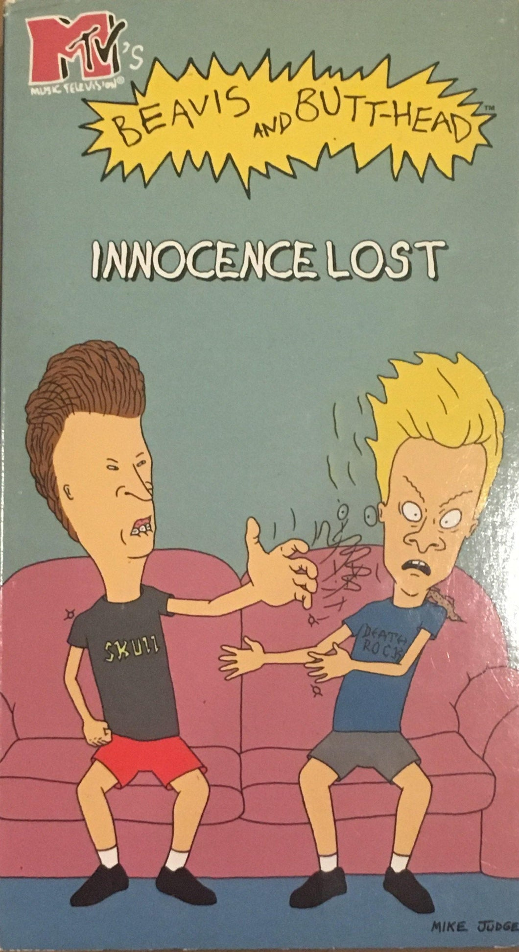 Beavis And Butthead Innocence Lost VHS