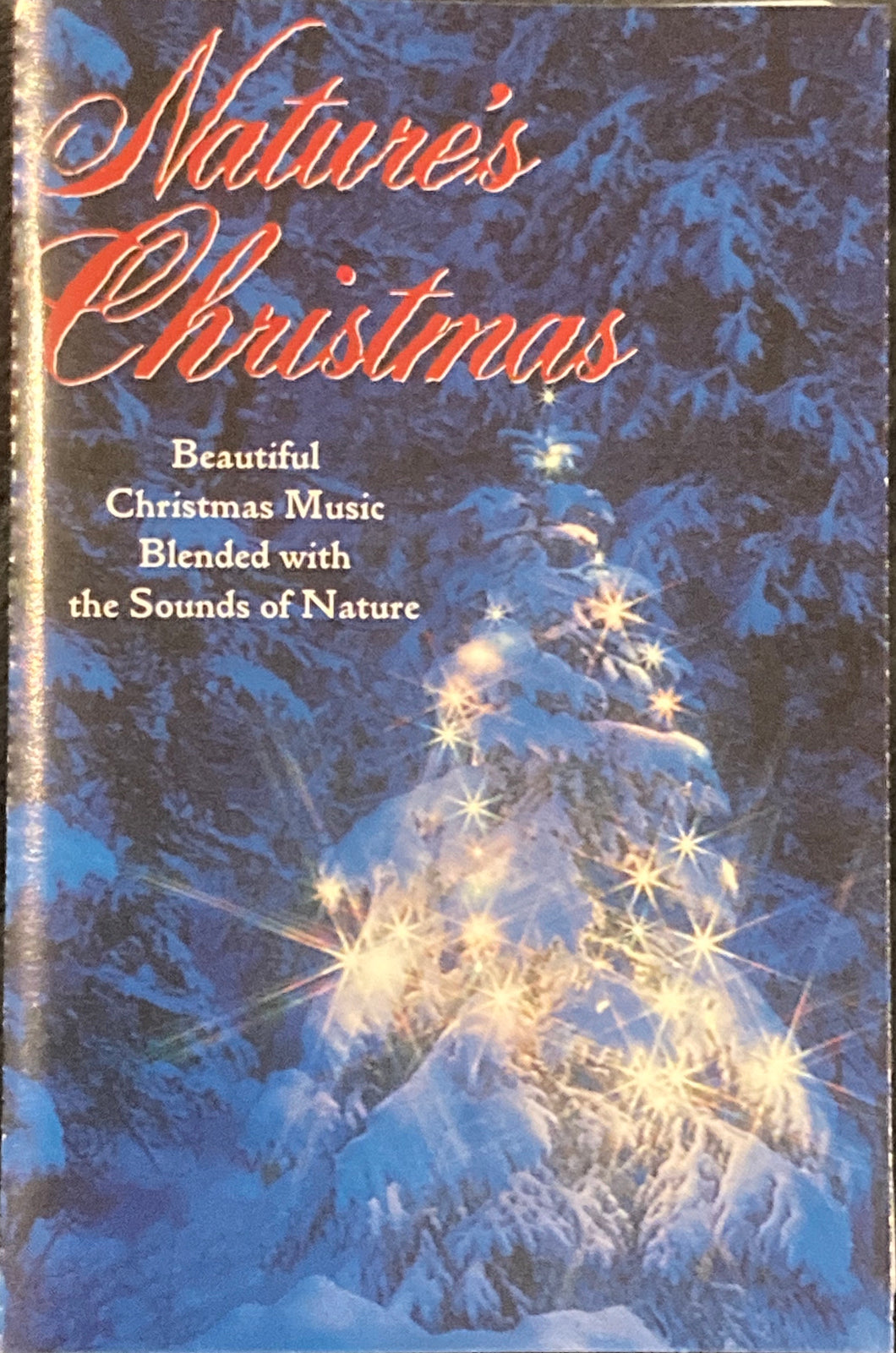 Nature's Christmas - Christmas Music + Nature Sounds Cassette VG