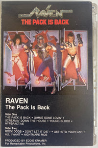 Raven - The Pack Is Back Cassette VG