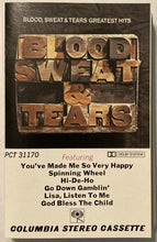 Load image into Gallery viewer, Blood Sweat & Tears - Greatest Hits Cassette VG