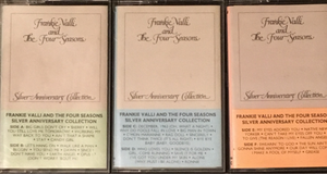 Frankie Valli & The Four Seasons Silver Anniversary Collection (3 Cassettes)