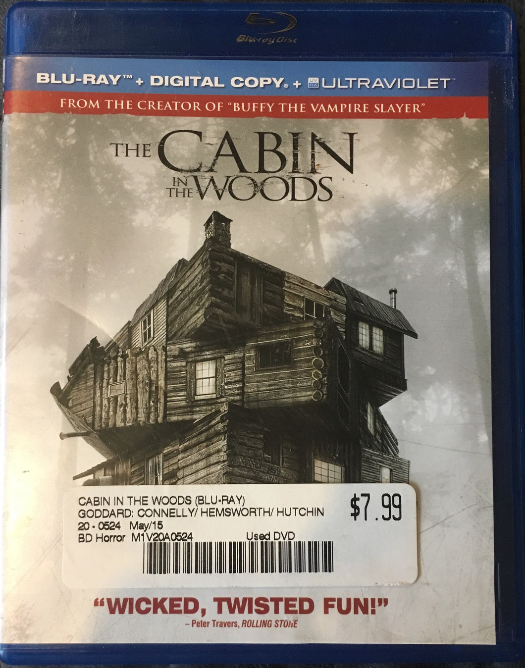 Cabin In The Woods BluRay