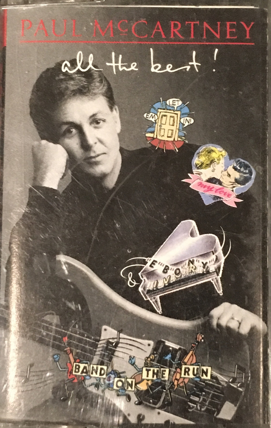 Paul McCartney - All The Best Cassette VG+