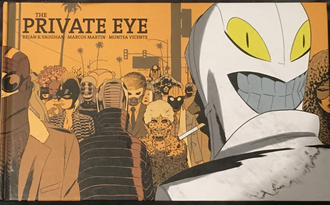 Private Eye Hard Cover Graphic Novel Comic
