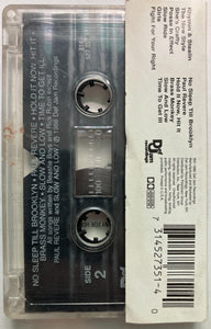 Beastie Boys - Licensed To Ill Cassette G+ (water damage j card, tape slightly dirty, plays flawless)