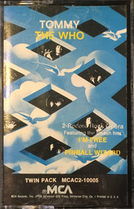 The Who - Tommy Cassette VG