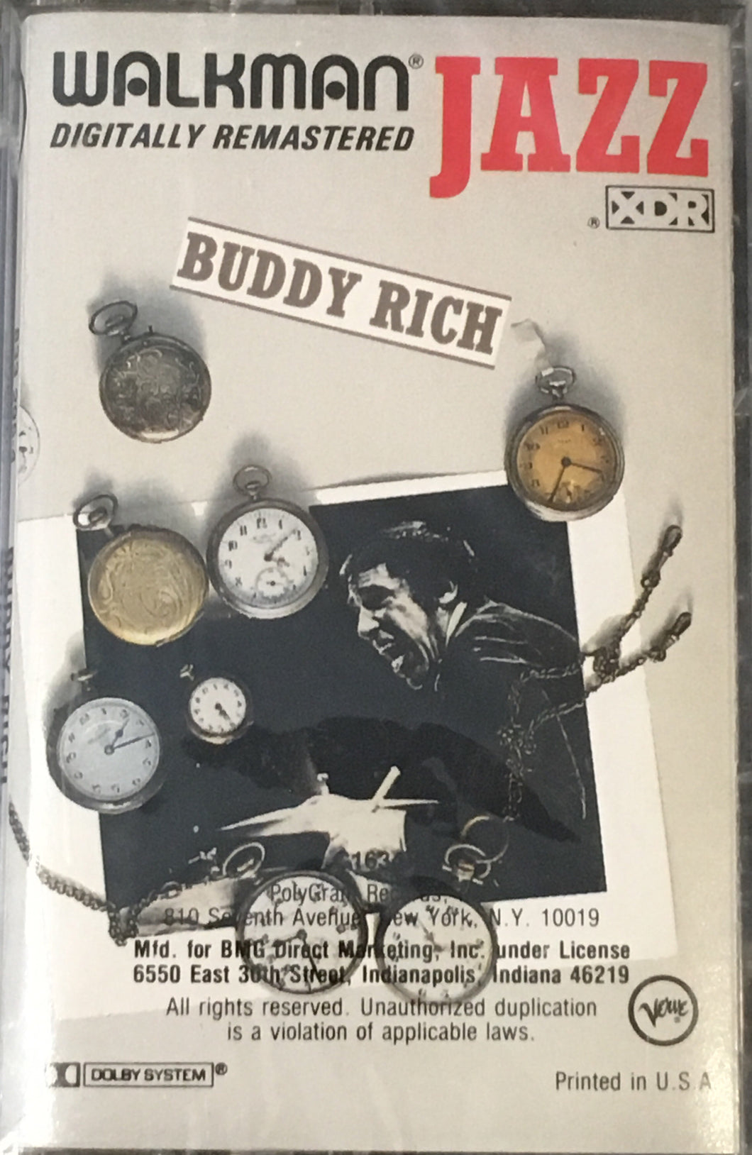 Buddy Rich Walkman Jazz Cassette