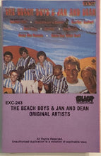 Load image into Gallery viewer, Beach Boys & Jan and Dean Cassette VG