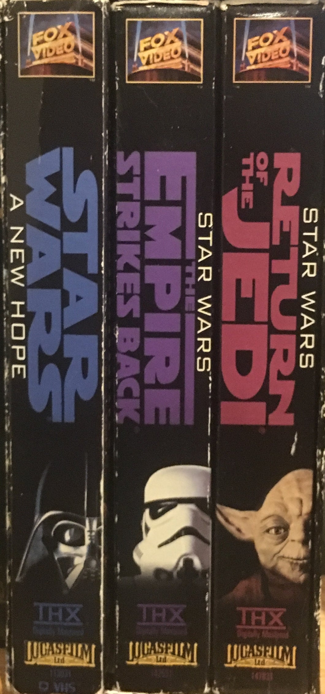 Star Wars Trilogy Less Special VHS