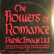 Load image into Gallery viewer, Public Image Ltd. PIL Flowers Of Romance Vinyl USED G+