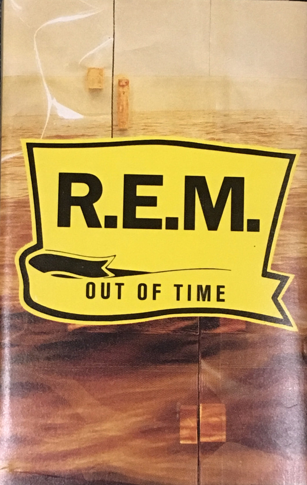 R.E.M. REM Out Of Time Cassette