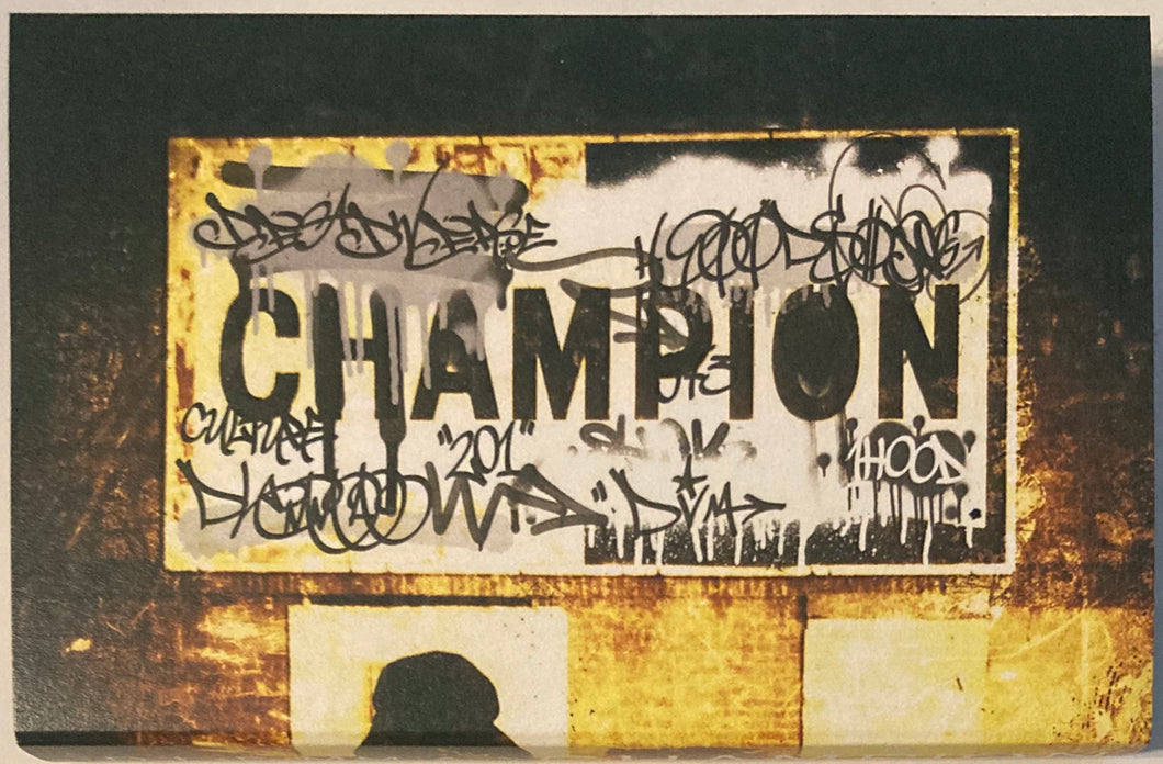 D.L.E.MM.A - Champion (Price includes Shipping/ Deadverse Records) CASSETTE TAPE New/mint