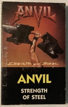 Load image into Gallery viewer, Anvil - Strength Of Steel Cassette Fair/Good/As Is