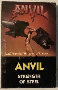 Anvil - Strength Of Steel Cassette Fair/Good/As Is