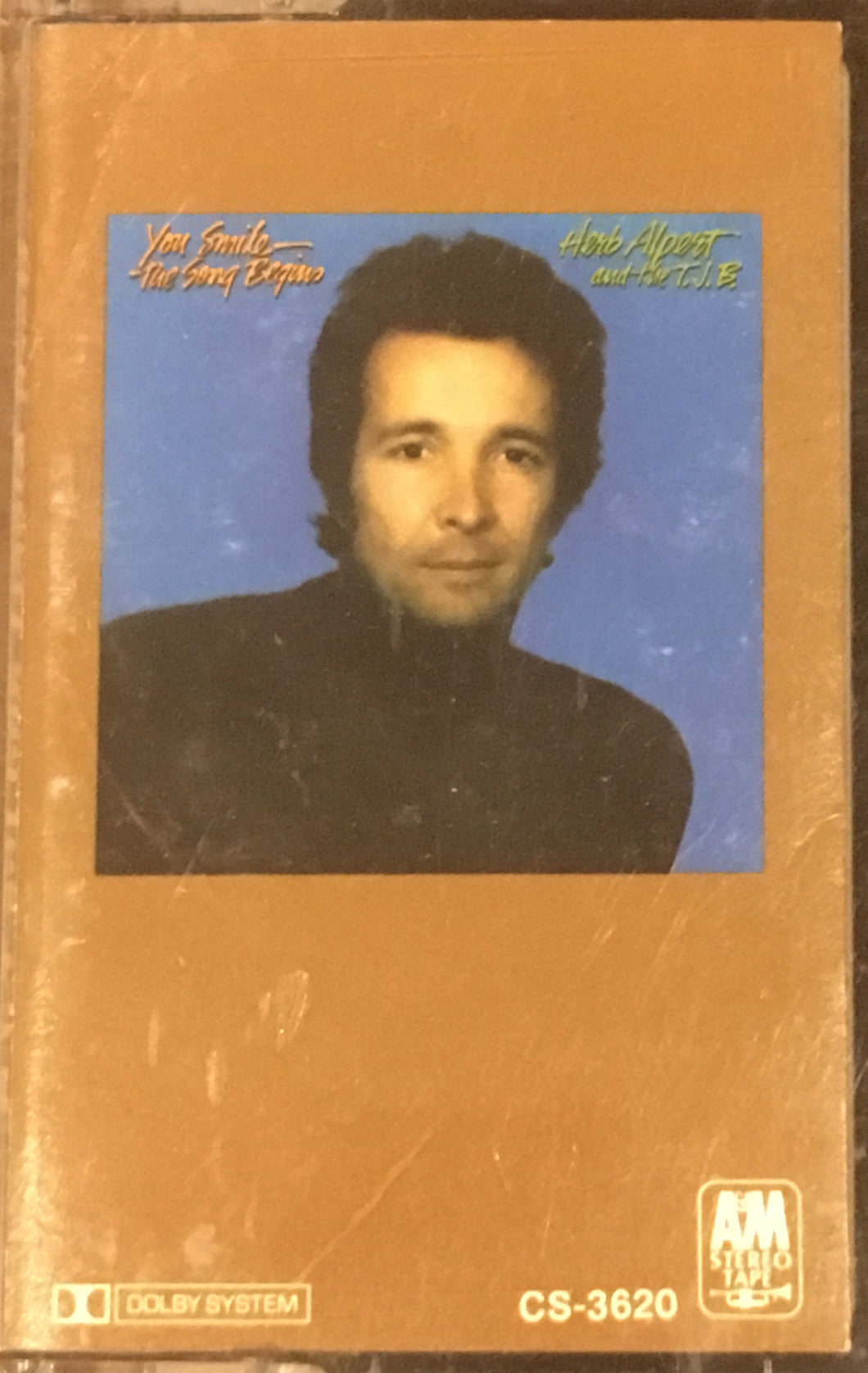 Herb Alpert and The TJB You Smile The Song Begins Cassette