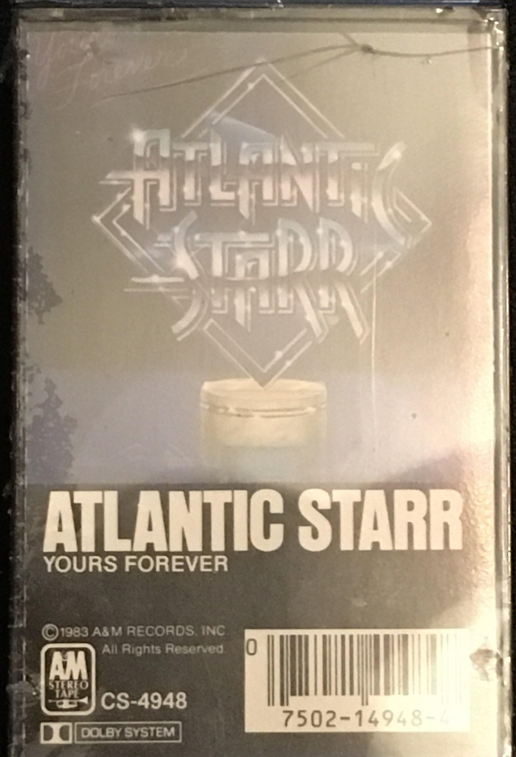Atlantic Starr- Yours Forever (Mint, Sealed) Cassette
