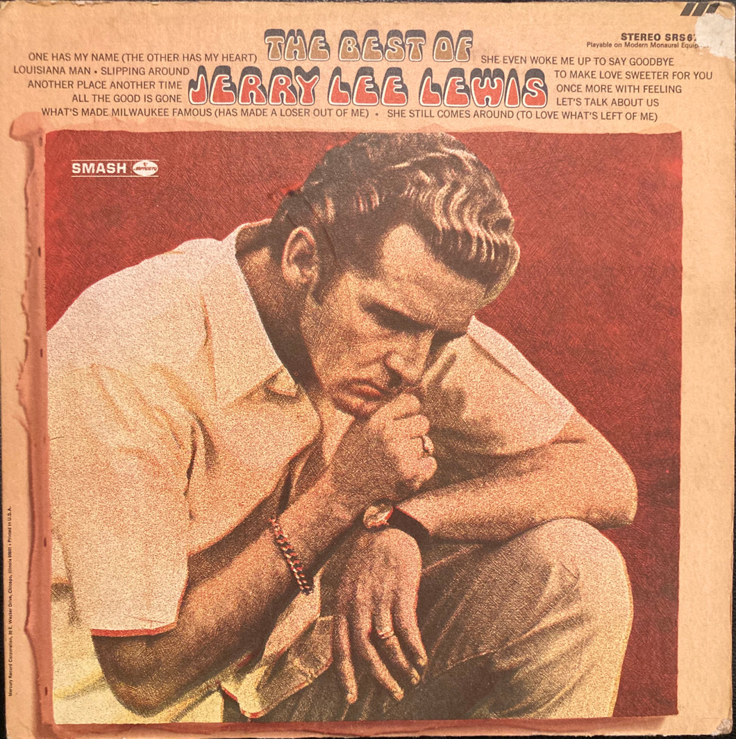 Jerry Lee Lewis - The Best Of Vinyl VG