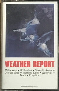 Weather Report - s/t cassette VG