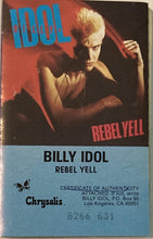 Load image into Gallery viewer, Billy Idol - Rebel Yell CASSETTE TAPE VG