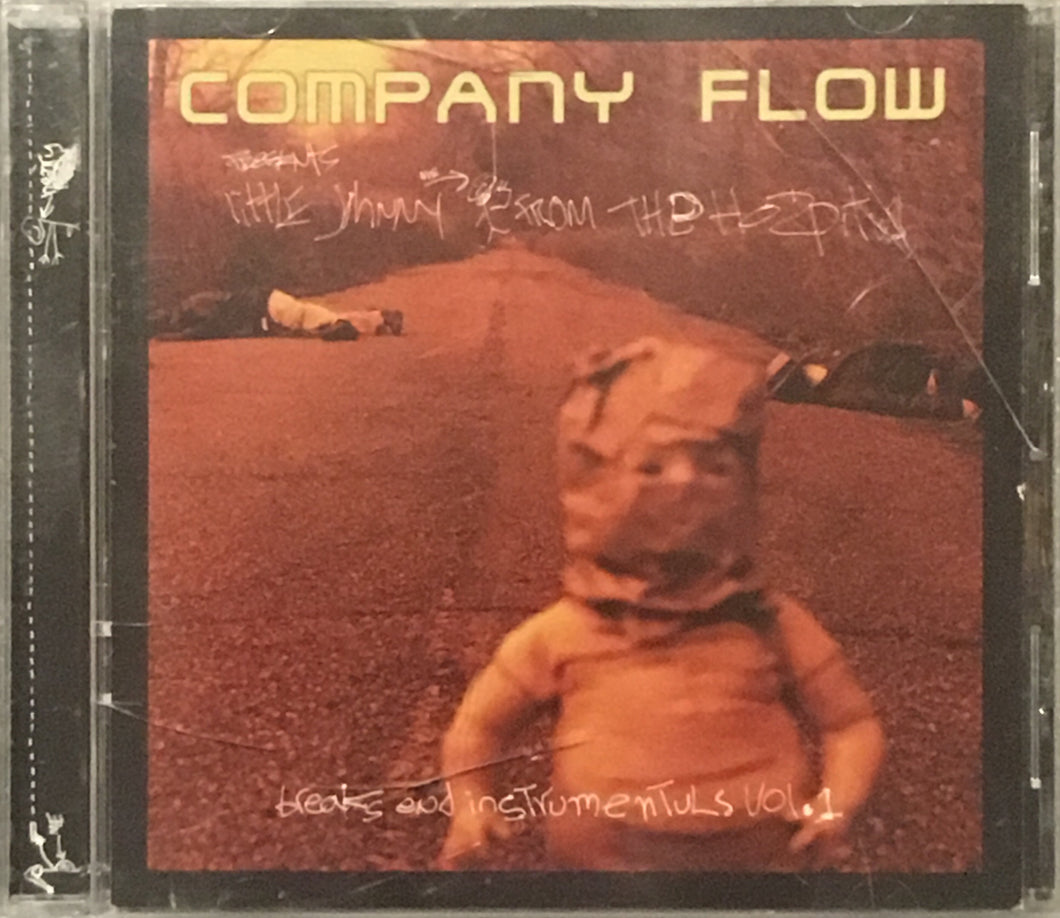 Company Flow Little Johnny From The Hospital CD