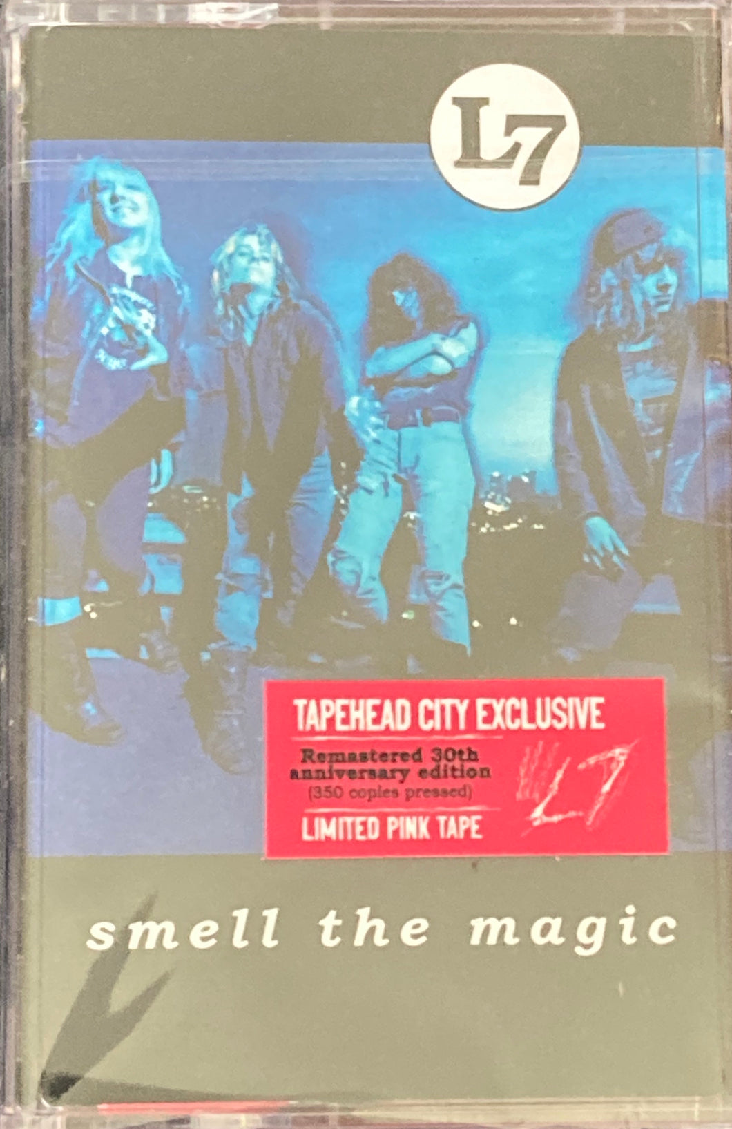 L7 - Smell The Magic (Tapeheadcity/Cassette Week/Pink Shell) Cassette NEW