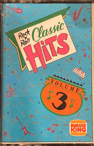 Rock N Roll Classic Hits Volume 3 Compilation Cassette (by Burger King)