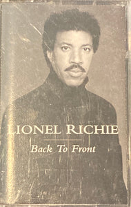 Lionel Ritchie - Back To Front Cassette VG