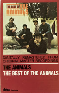 Animals - The Best Of CASSETTE TAPE VG+ - 3rdfloortapes.com
