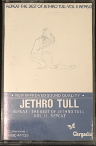 Jethro Tull - Repeat, The Best Of, Volume 2 Cassette