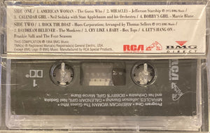 Montclair Rockin' Hits of the 60's and 70's (tracks in photo) Cassette