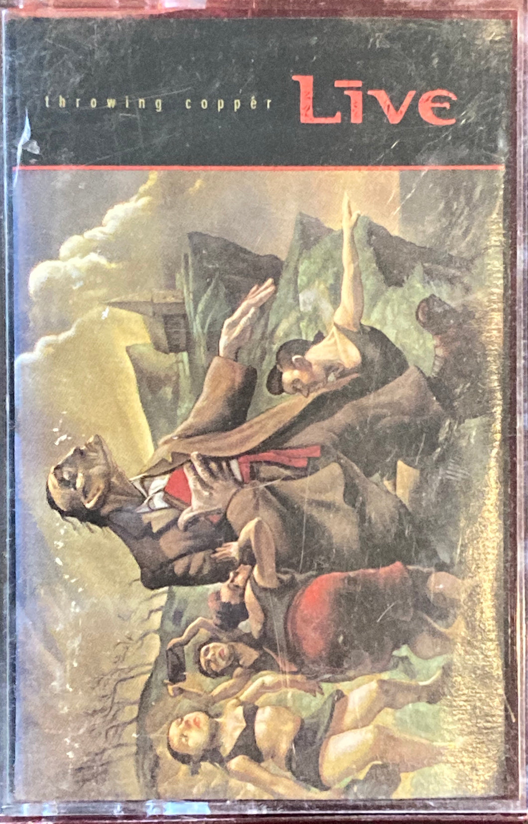 Live - Throwing Copper Cassette G