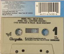 Load image into Gallery viewer, Billy Idol - Rebel Yell CASSETTE TAPE VG - 3rdfloortapes.com