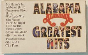 Alabama - Greatest Hits Cassette VG