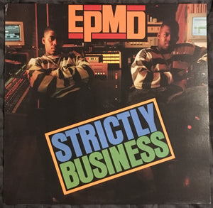 EPMD Strictly Business Reissue Vinyl See Photos VG+