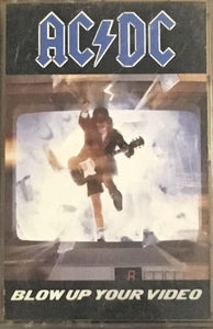 AC/DC Blow Up Your Video Cassette G+ 1988