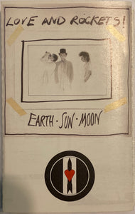 Love And Rockets - Earth Sun Moon Cassette VG