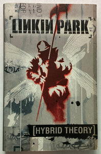 Linkin Park - Hybrid Theory Cassette G+Tape is 👍, j card has water damage, tape shell cracked but plays great!)