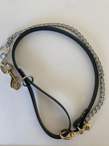 Leather 1 dog Tree Lead