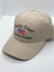 Treacle Creek Hunting Supply hats W/ solid back
