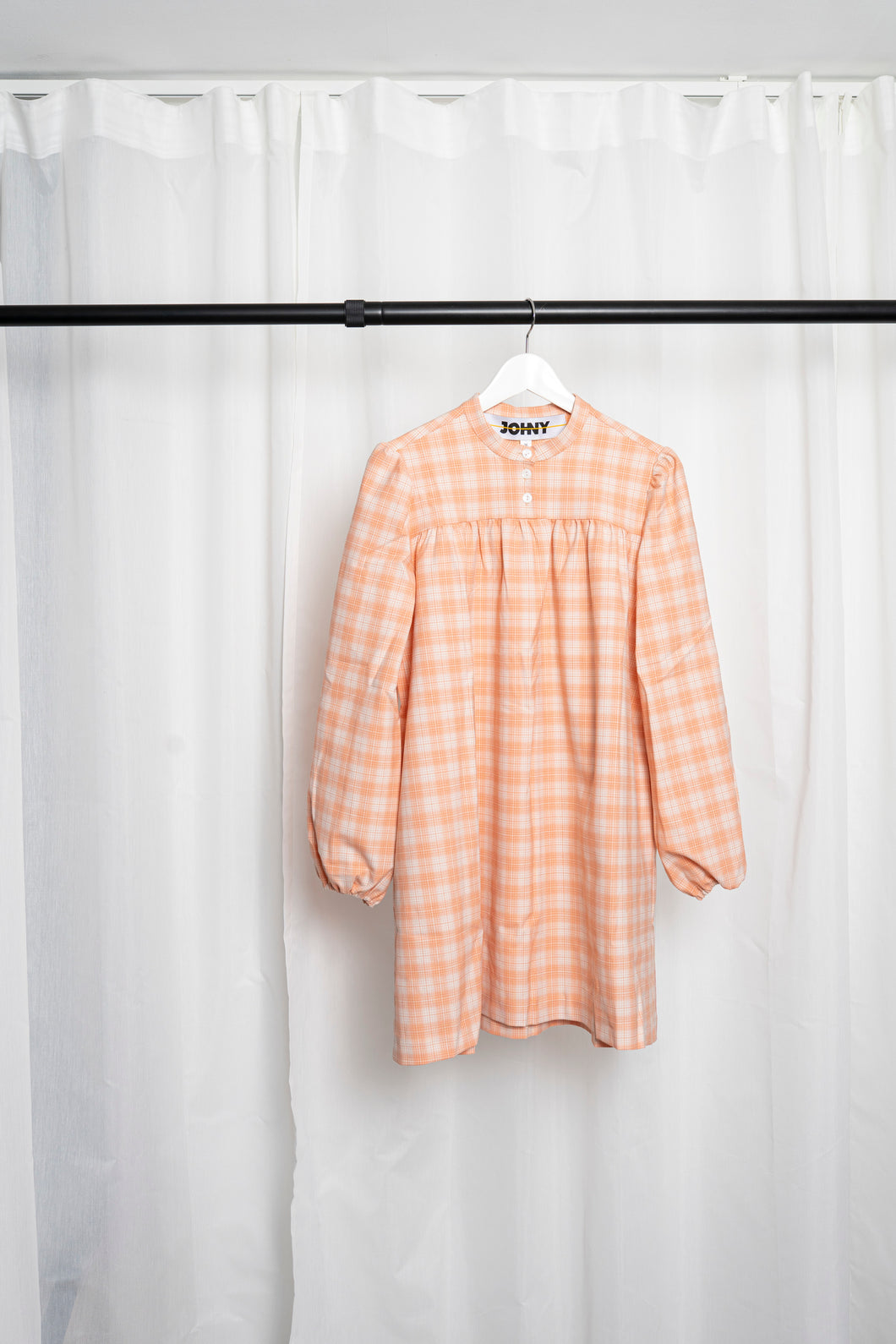 Dress ELVIS orange checks