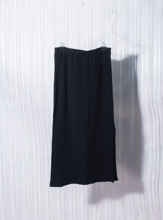 Knit skirt black