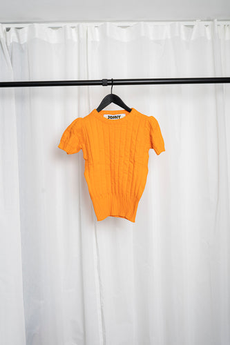 Knit top Bobbie orange