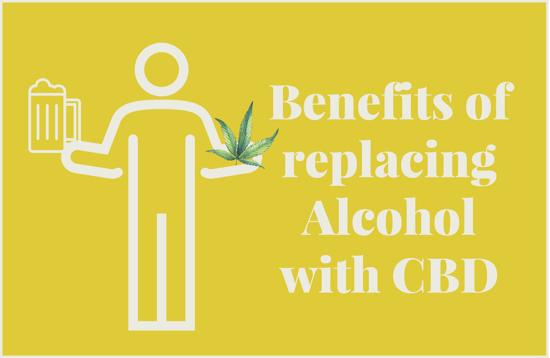Benefits of replacing Alcohol with CBD