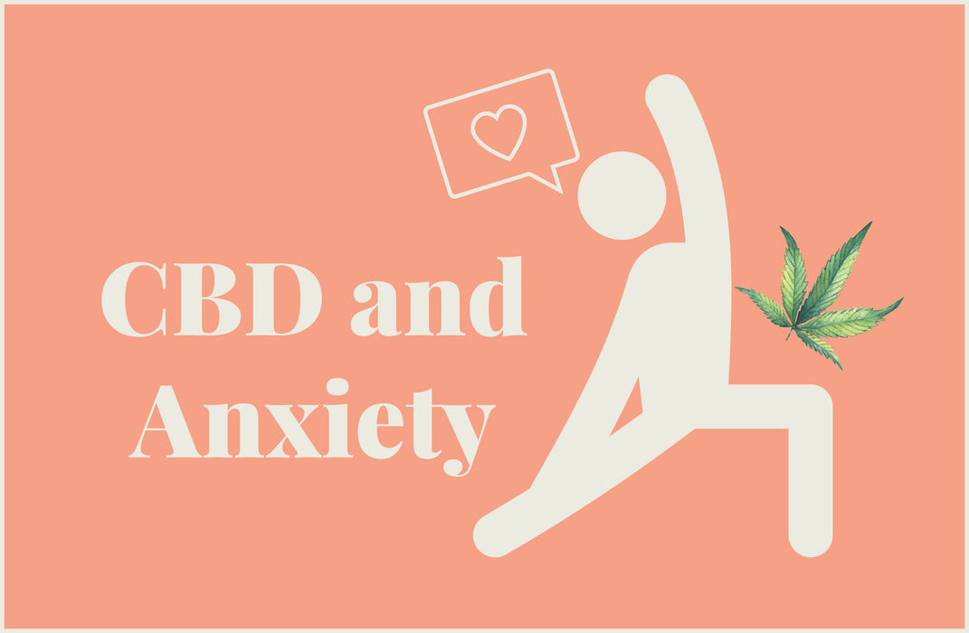 How does CBD help with stress and anxiety?