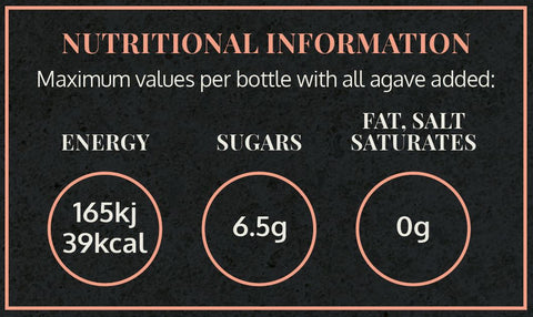 Tales of Marrakesh Nutritional Information