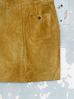 70'S SUEDE SKIRT